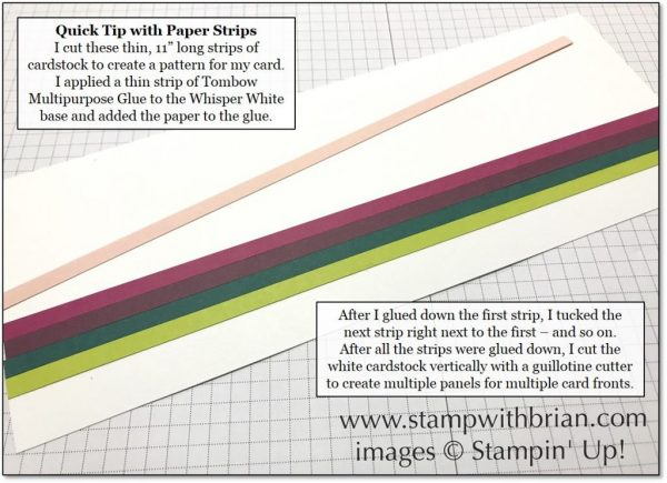 2017-2019 In Colors, Stampin' Up!, Brian King