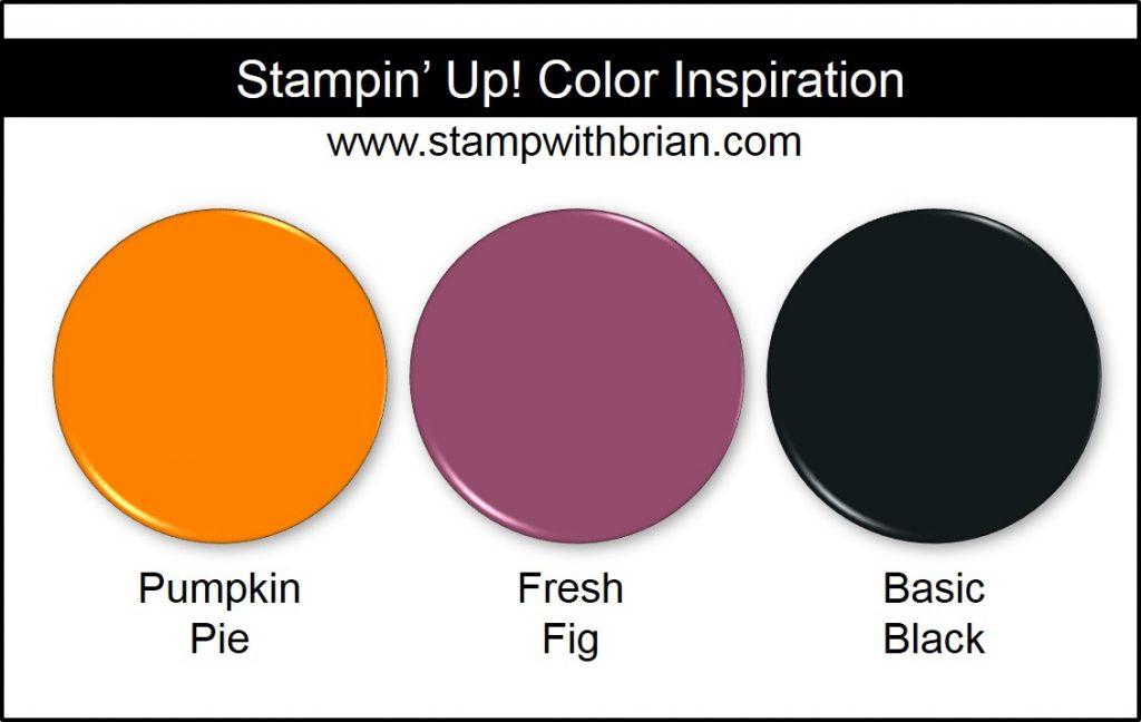 Stampin' Up! Color Inspiration: Pumpkin Pie, Fresh Fig, Basic Black