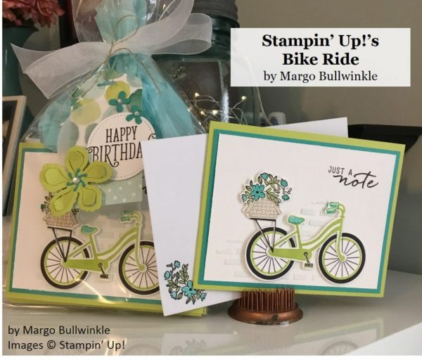 Bike Ride, Stampin' Up!, by Margo Bullwinkle