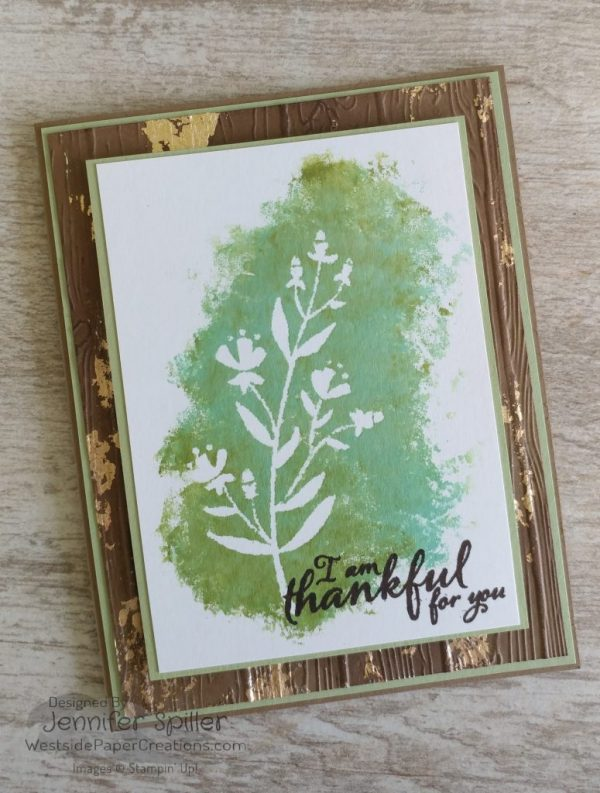 Flirty Flowers, Painted Harvest, Stampin' Up!, by Jennifer Spiller