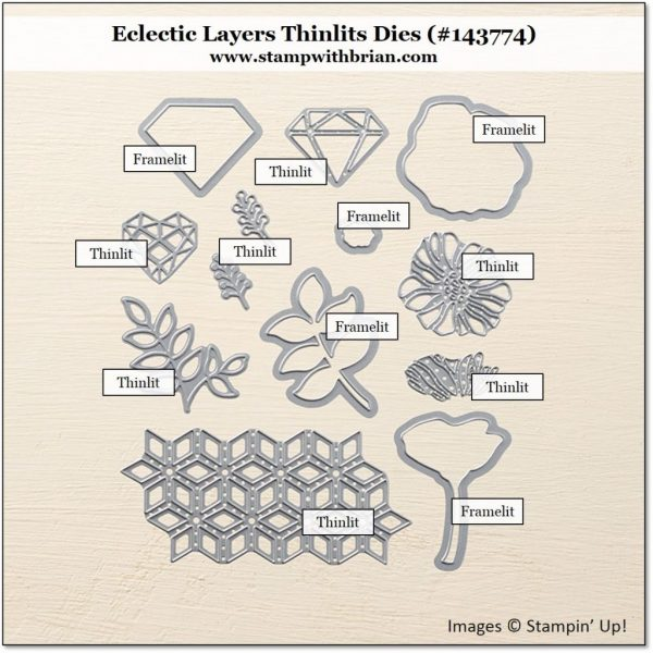 Framelits vs. Thinlits, Eclectic Layers Thinlits Dies, Stampin' Up!, Brian King