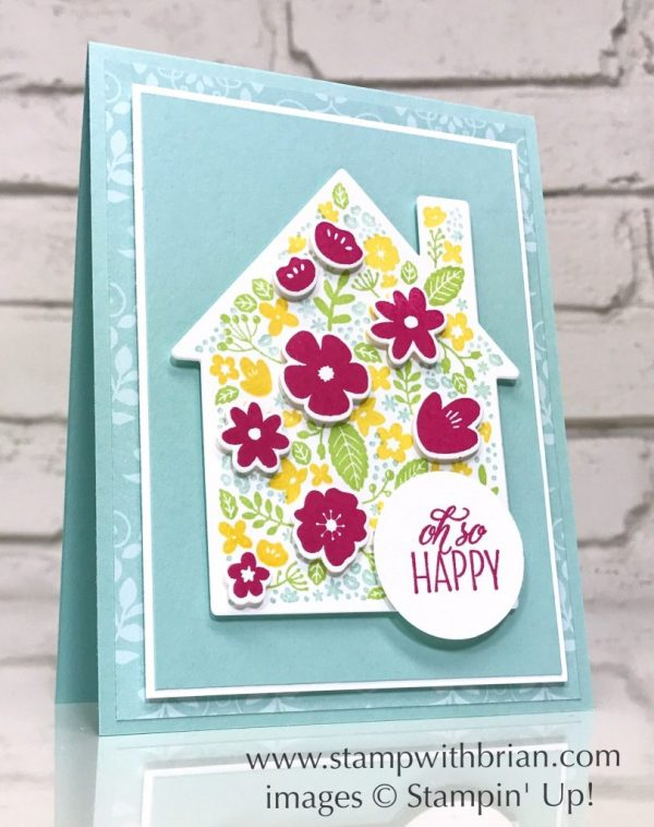 Home Life, Lovely Friends, Stampin' Up!, Brian King, houswarming card