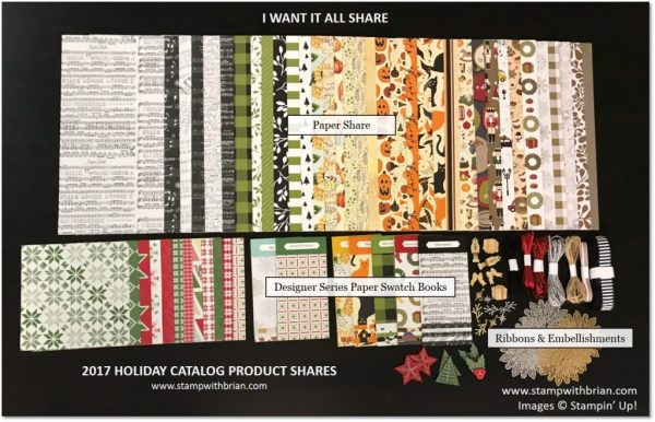 I Want it All Share, 2017 Holiday Catalog, Brian King