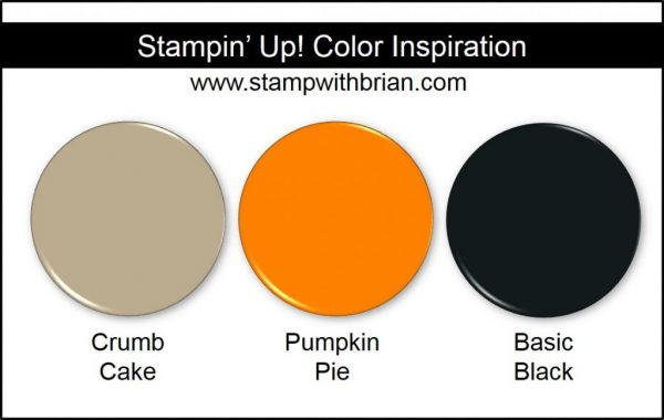 Stampin' Up! Color Inspiration: Crumb Cake, Pumpkin Pie, Basic Black