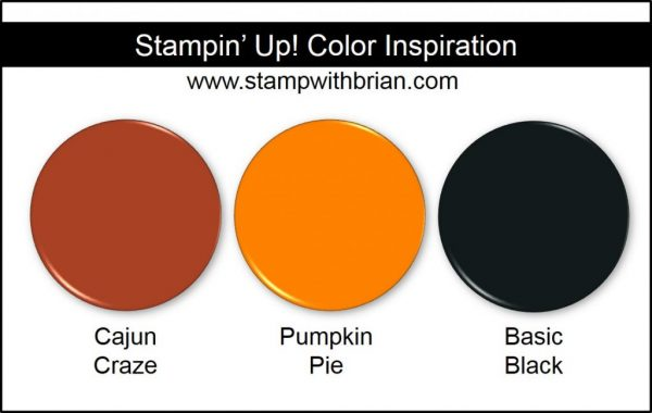 Stampin' Up! Color Inspiration: Cajun Craze, Pumpkin Pie, Basic Black