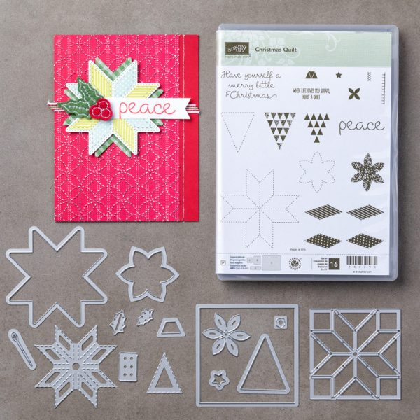 Chistmas Quilt Bundle, Stampin' Up!, 146026