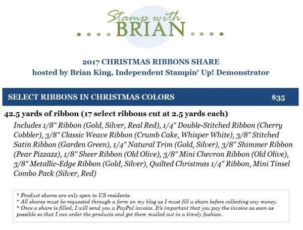Christmas Ribbon Share