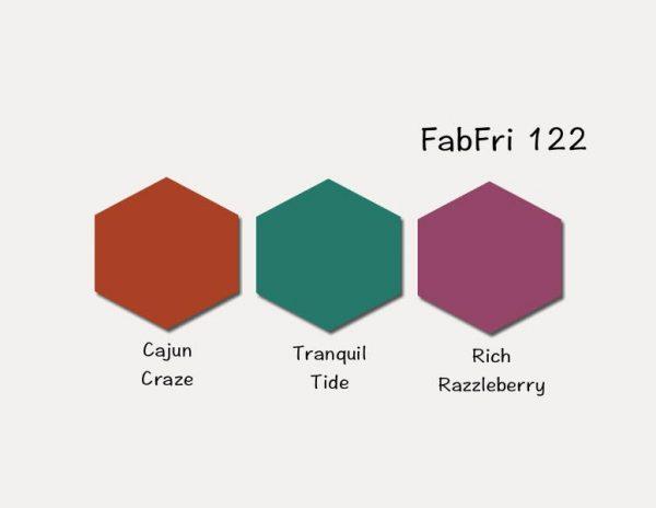 Stampin' Up! Color Inspiration: Cajun Craze, Tranquil Tide, Rich Razzleberry