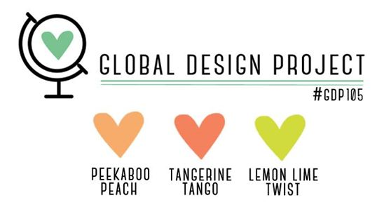 Stampin' Up! Color Inspiration: Peekaboo Peach, Tangerine Tango, Lemon Lime Twist