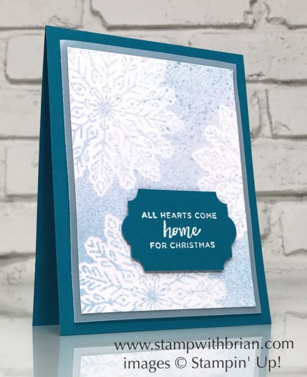 Hearts Come Home, Stampin' Up!, Brian King