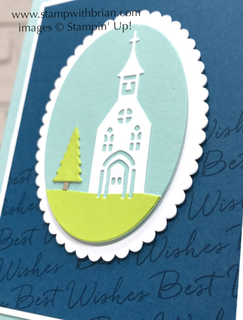 Hometown greetings wedding card stamp with brian heres a closer look hometown greetings edgelits blooms wishes stampin up brian king m4hsunfo