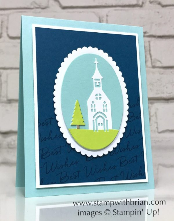 Hometown Greetings Edgelits, Blooms & Wishes, Stampin' Up!, Brian King