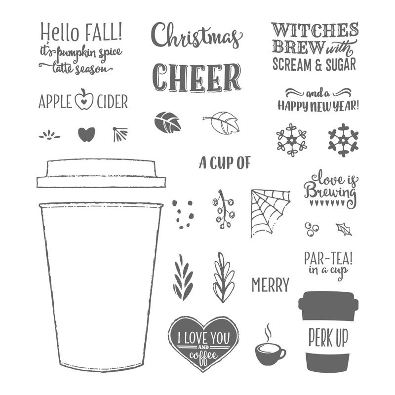 Merry Cafe, Stampin' Up!, 144965