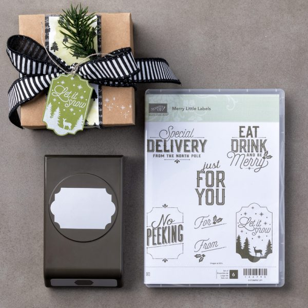 Merry Little Labels Bundle, Stampin' Up!, 146030