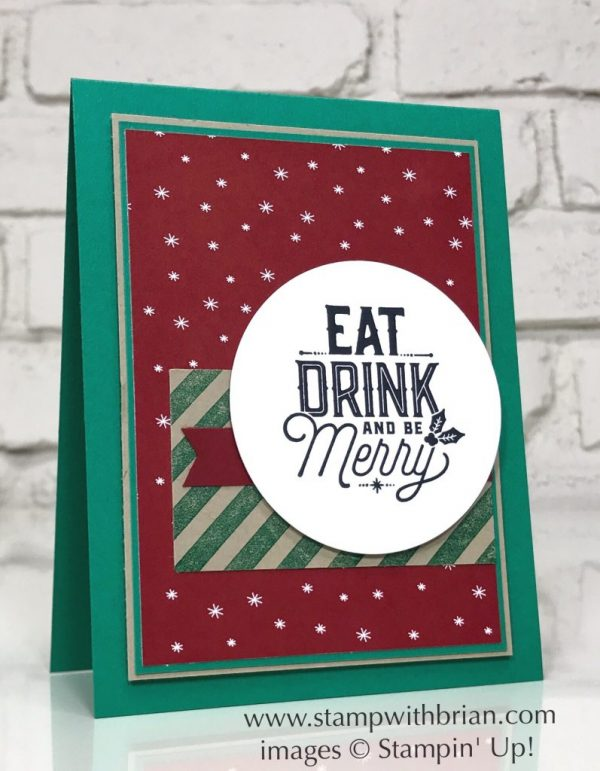 Merry Little Labels, Stampin' Up!, Brian King, GDP106