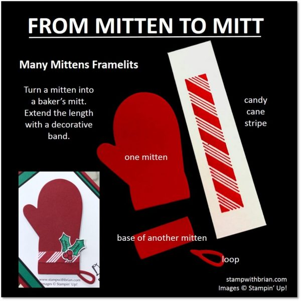 Mitten to Mitt with Stampin' Up!'s Many Mittens Framelits Dies, Stampin' Up!, Brian King