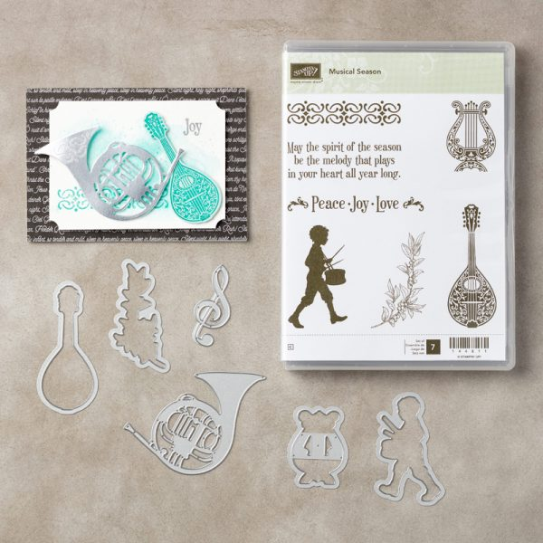 Musical Season Bundle, Stampin' Up! 146049