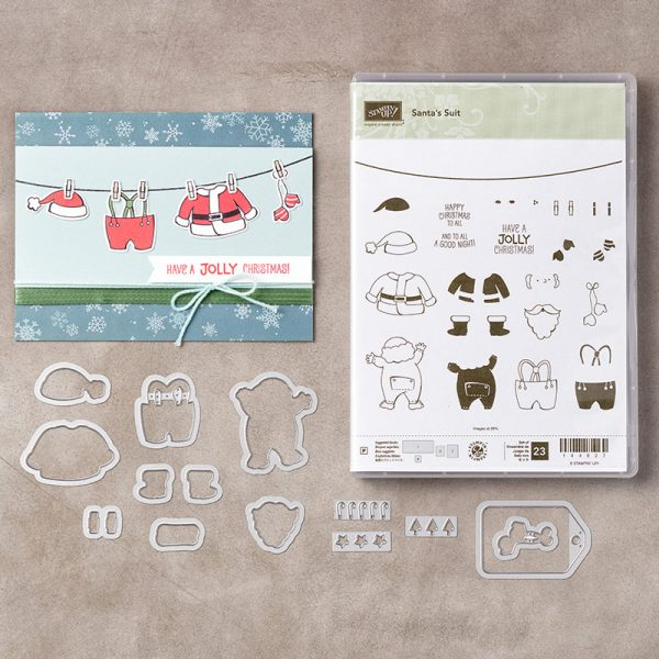 Santa's Suit Bundle, Stampin' Up!, 146060