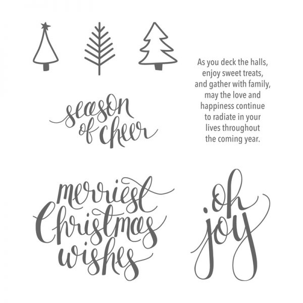 Watercolor Christmas, Stampin' Up!, 144838