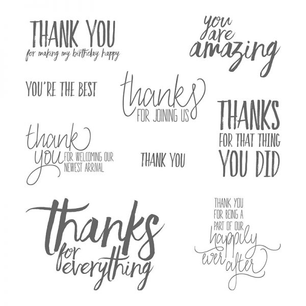 All Things Thanks, Stampin' Up!, 143097