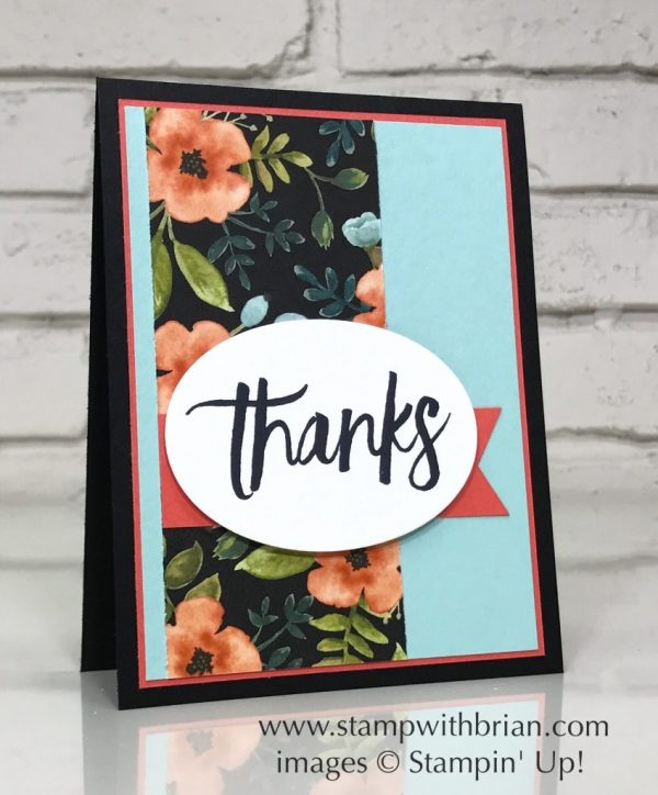 All Things Thanks, Whole Lot of Lovely Designer Series Paper, Stampin' Up!, Brian King