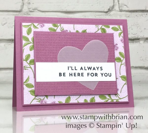 Always & Forever, Stampin' Up!, Brian King, GDP108