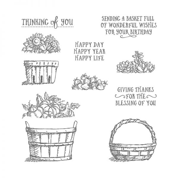 Basket of Wishes, Stampin' Up! 142200