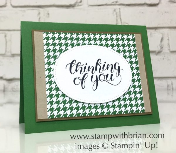 Count My Blessings, Be Merry Designer Series Paper, Stampin' Up!, Brian King