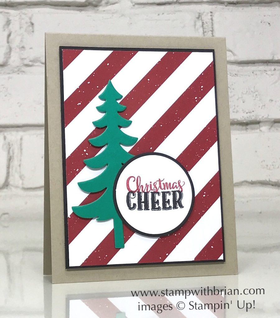 Merry Cafe, Santa's Sleigh, Be Merry, Stampin' Up!, Brian King