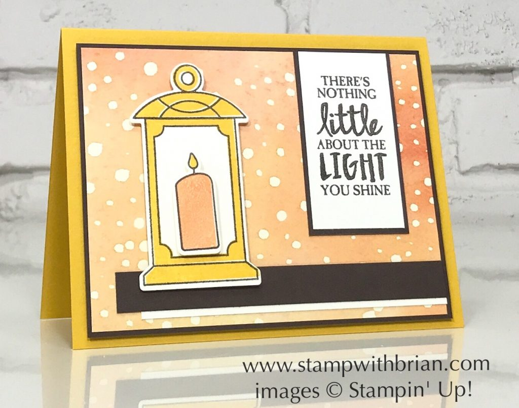 Seasonal Lantern, High Tide, Stampin' Up!, Brian King