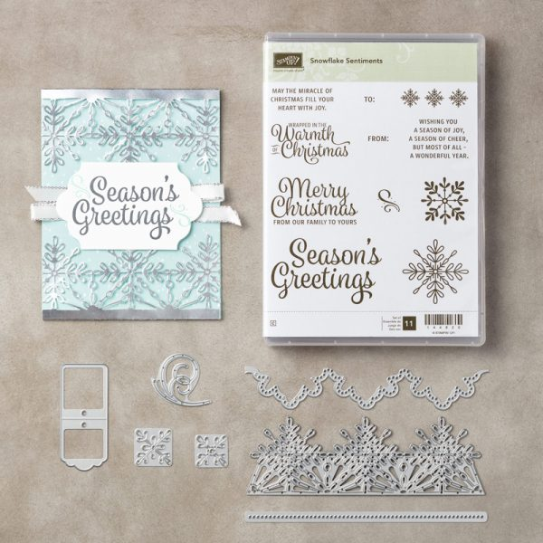 Snowflake Sentiments Bundle, Stampin' Up! 146053