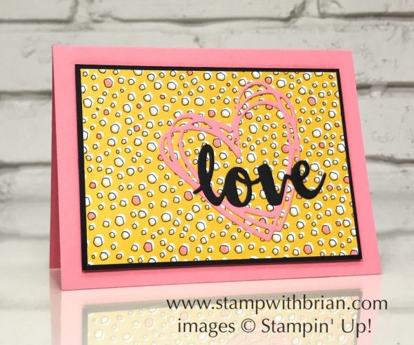 Sunshine Wishes Thinlits, Pick a Pattern Designer Series Paper, Stampin' Up!, Brian King