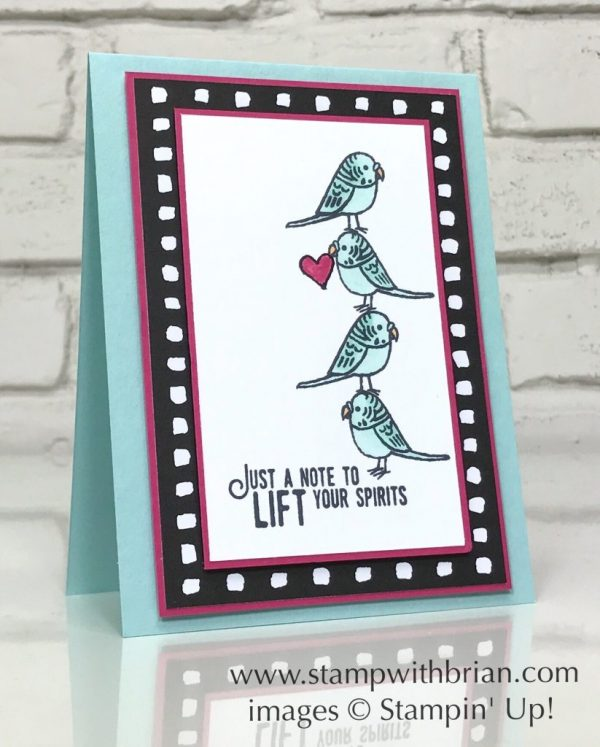 Bird Banter, Lift Me Up, Stampin' Up!, Brian King