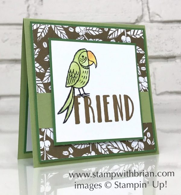 Bird Banter, Lovely Inside & Out, Stampin' Up!, Brian King