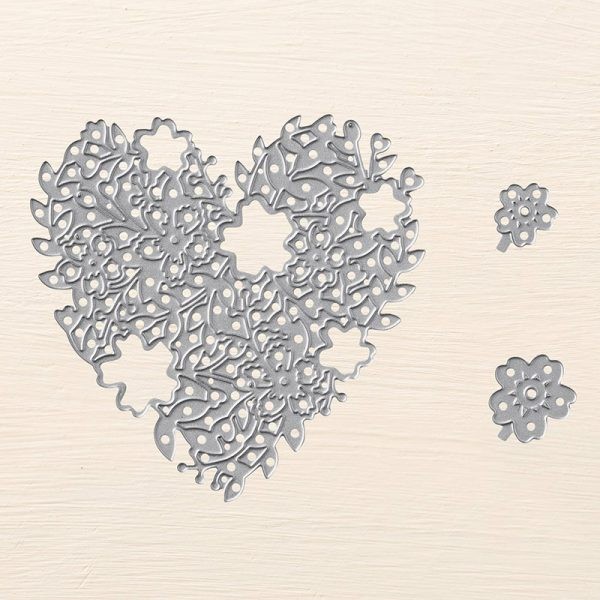 Bloomin' Heart Thinlits, Stampin' Up! 140621