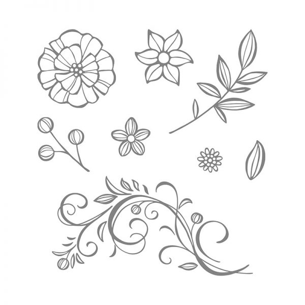Falling Flowers, Stampin' Up!, 139556