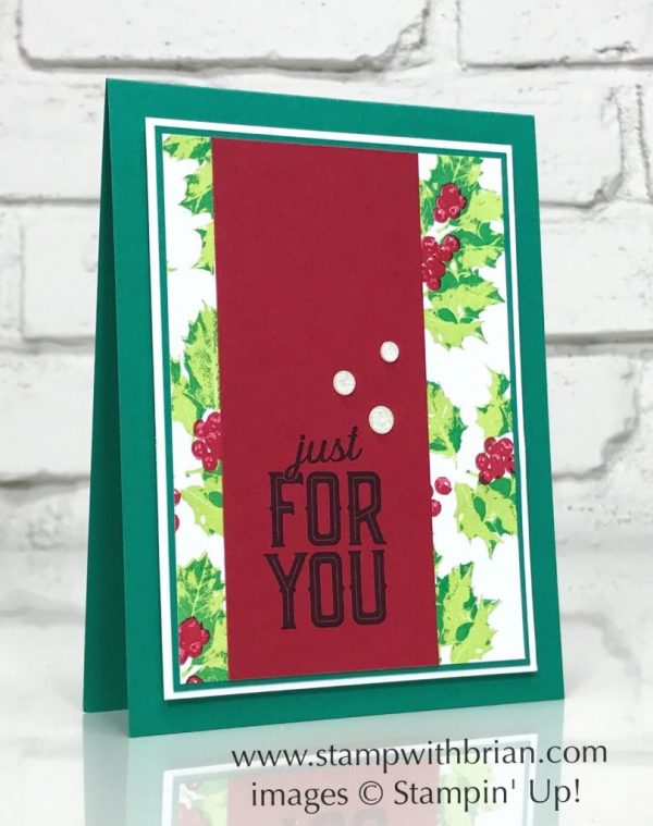 Good Tidings, Merry Little Labels, Stampin' Up!, Brian King, GDP115