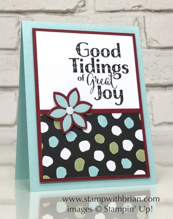 Good Tidings, Whole Lot of Lovely Deisgner Series Paper, Stampin' Up!, Brian King