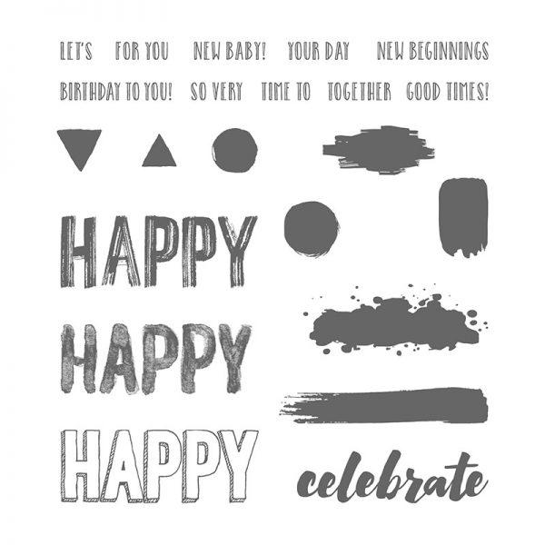 Happy Celebration, Stampin' Up!, 143012