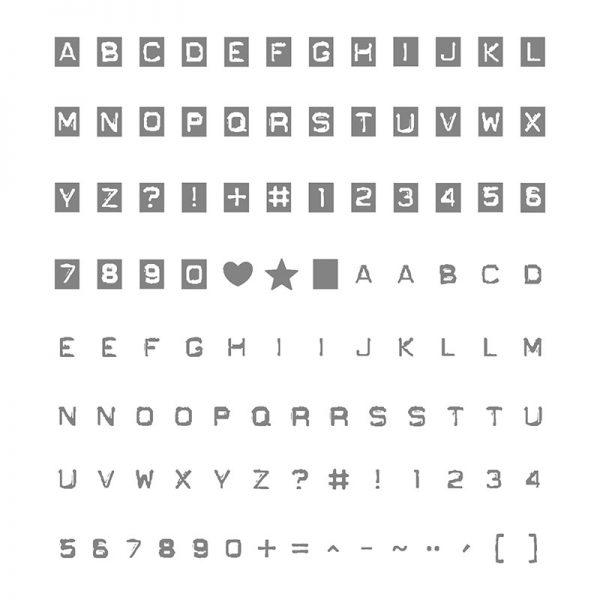 Labeler Alphabet, Stampin' Up!, 141936