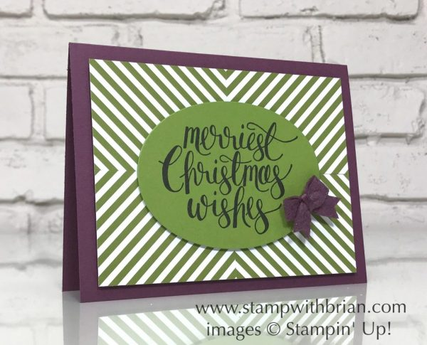 Watercolor Christmas, Merry Little Christmas Designer Series Paper, Stampin' Up!, Brian King, FabFri125