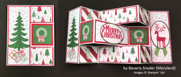 by Beverly Snyder, Stampin' Up!, Holiday One-for-One Swap