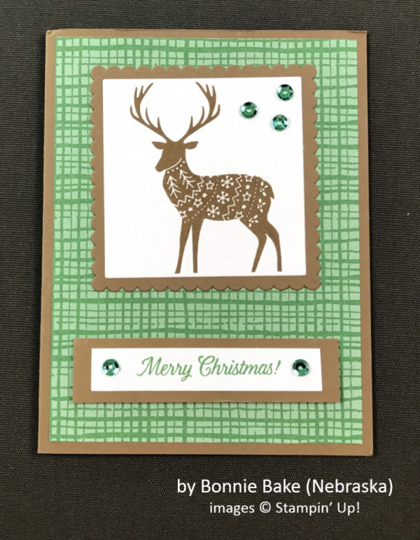by Bonnie Bake, Stampin' Up!, Holiday One-for-One Swap