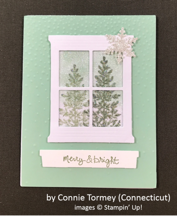 by Connie Tormey, Stampin' Up!, Holiday One-for-One Swap