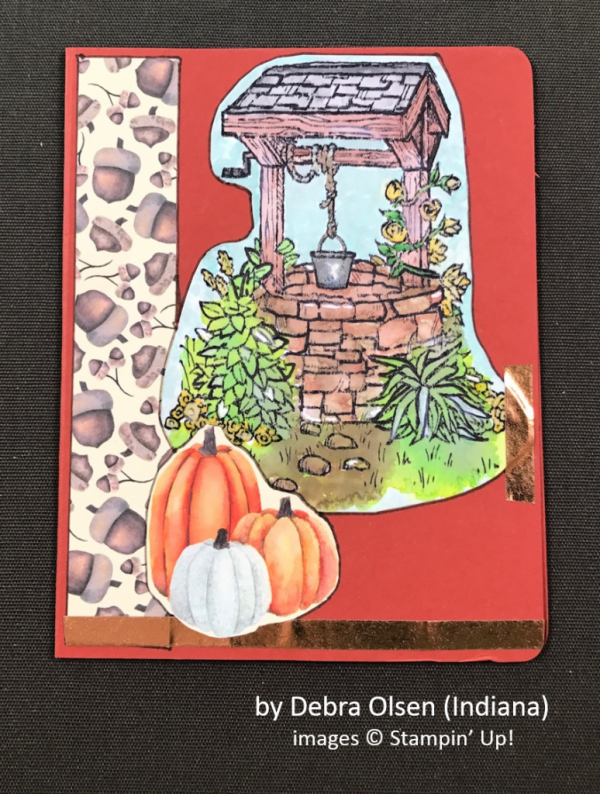 by Debra Olsen, Stampin' Up!, Holiday One-for-One Swap