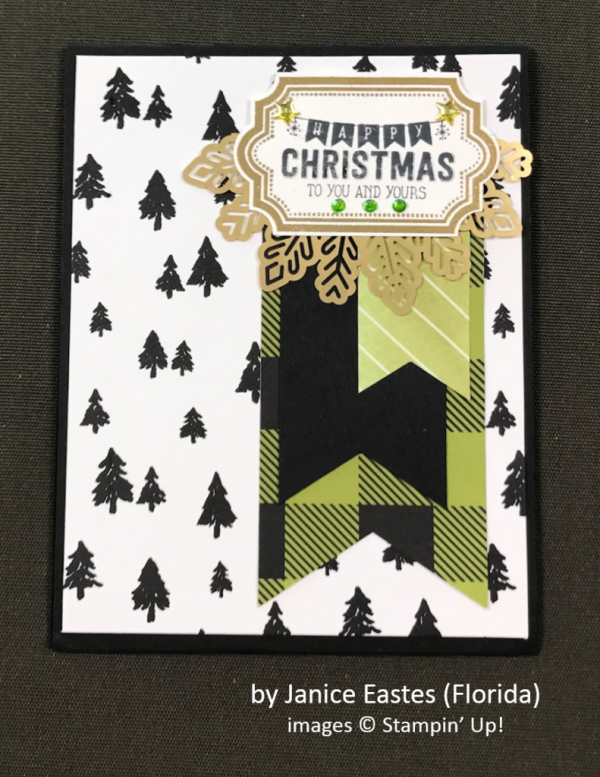 by Janice Eastes, Stampin' Up!, Holiday One-for-One Swap