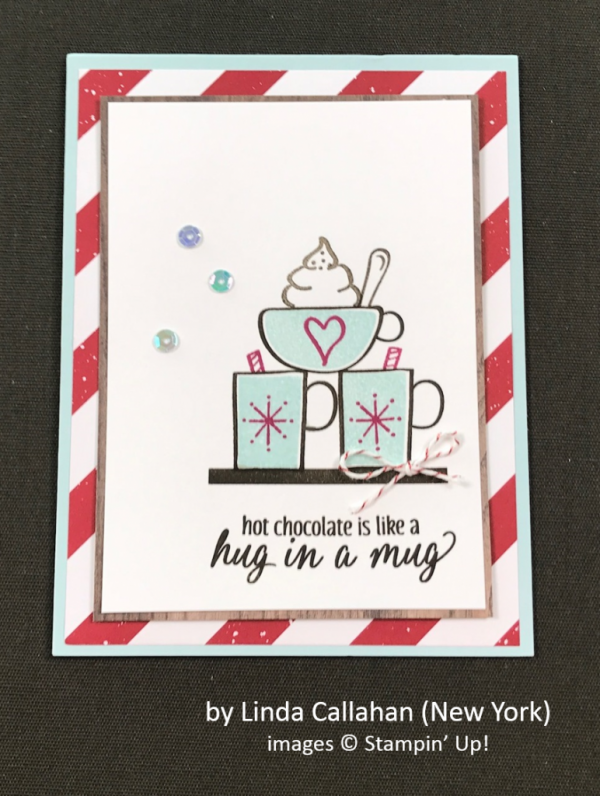 by Linda Callahan, Stampin' Up!, Holiday One-for-One Swap