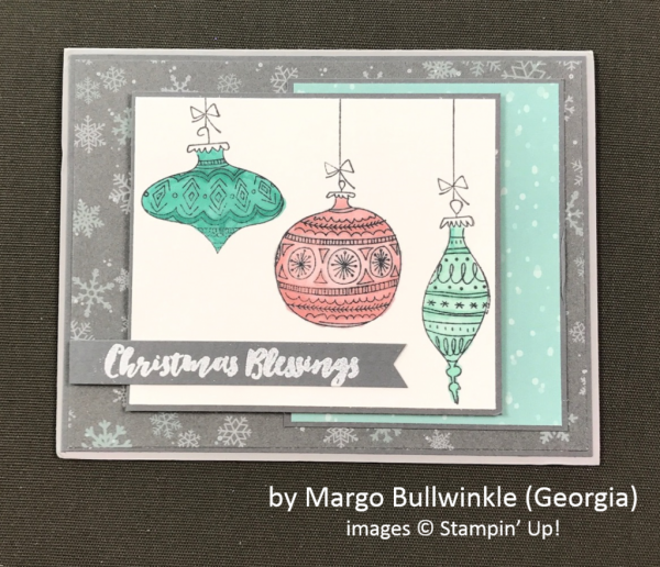 by Margo Bullwinkle, Stampin' Up!, Holiday One-for-One Swap
