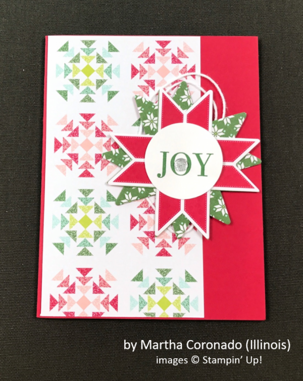 by Martha Coronado, Stampin' Up!, Holiday One-for-One Swap