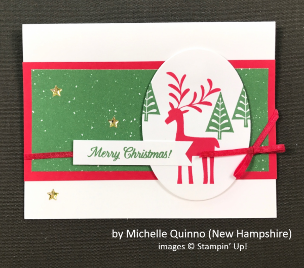 by Michelle Quinno, Stampin' Up!, Holiday One-for-One Swap